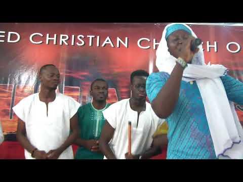 Hausa group  praising God during AFRICAN PRAISE