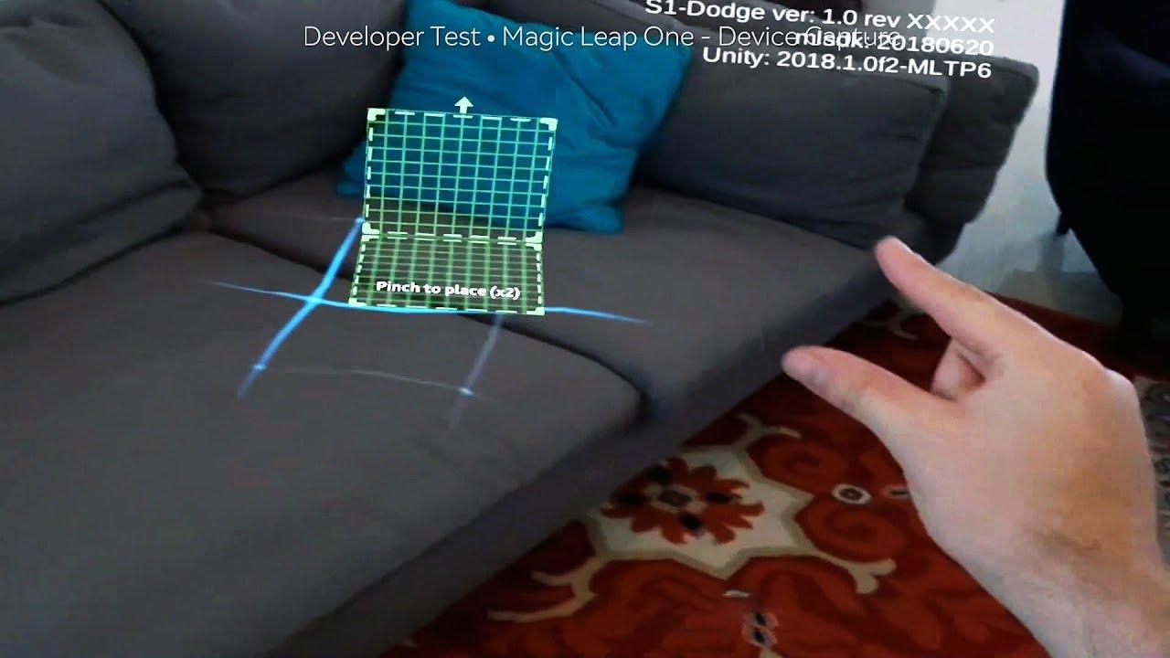 Magic Leap показала работу очков дополненной реальности и назвала дату выхода