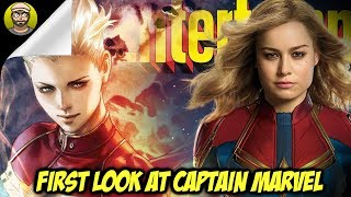 FIRST LOOK at Captain Marvel!!!