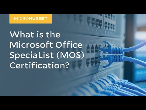MicroNugget: What is the Microsoft Office SpeciaList (MOS ...