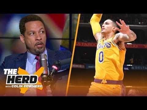Chris Broussard on if Kyle Kuzma is Lakers' 2nd star, talk Luke Walton's job status   NBA   THE HERD