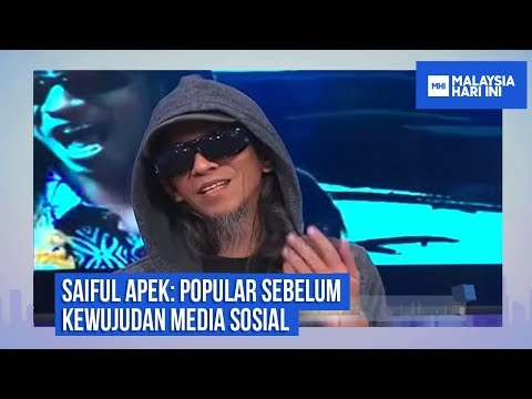 Download Saiful Apek: Popular Sebelum Kewujudan Media Sosial |MHI (23 Oktober 2018) HD Mp4 3GP Video and MP3