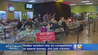 Rodeo Vendors Rely On Each Other To Spend Money