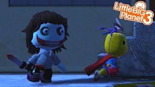 JEFF THE KILLER LEVELS | LittleBIGPlanet 3 Gameplay (Playstation 4)
