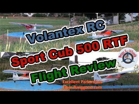 Volantex RC Sport Cub 500 RTF (761-4) from Banggood – Part 3: Flight Review