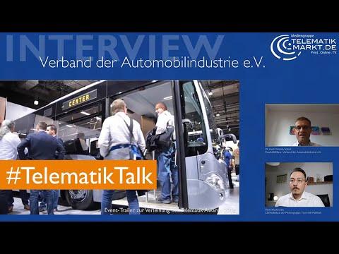 Digitalisierung, Corona und der Telematik Award – VDA-Geschäftsführer Scheel im #TelematikTalk