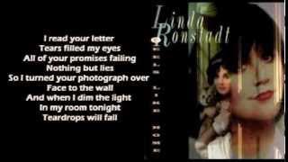 Linda Ronstadt - Teardrops Will Fall ( + lyrics 1995)