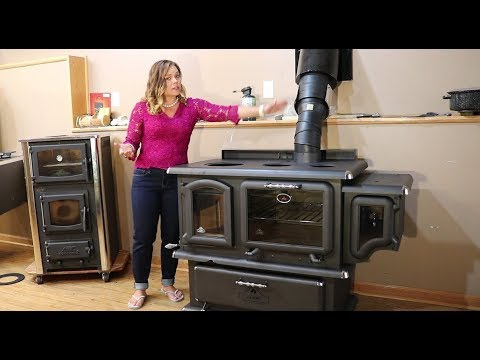 J.A. Roby Cookstoves - Chief Wood Cookstove Technical Overview