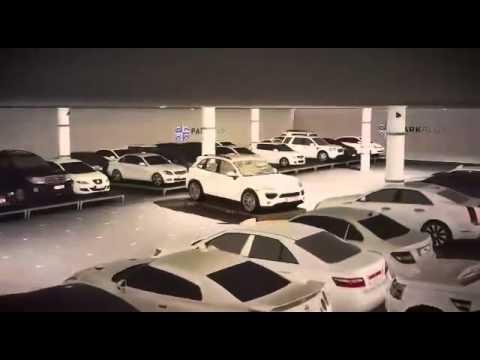 סרטון הדגמה של החניון בשדה התעופה של אבו דאבי
