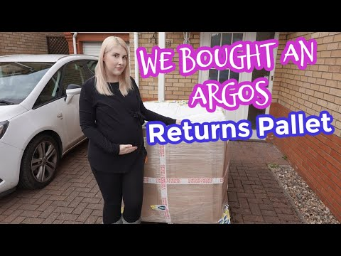 WE BOUGHT AN ARGOS RETURNS PALLET FOR £112... WAS IT WORTH IT?