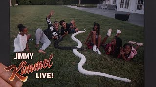 Sean 'Diddy' Combs Hired Giant Snakes for His Kids
