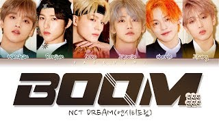 NCT DREAM (엔시티 드림) 'BOOM' (Color Coded Lyrics EngRomHan가사)