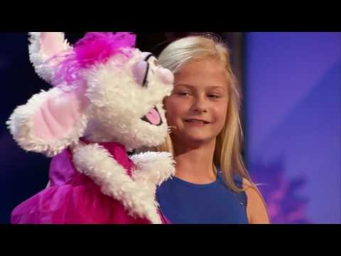 America's Got Talent 2017 Darci Lynne Farmer Ventriloquist Golden Buzzer Auditions 1