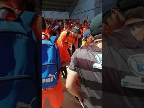 """""""Huracan Naranja 🦊🦊🇨🇱 LA BANDA DEL 8 CALAMA"""" Barra: Huracan Naranja • Club: Cobreloa"""