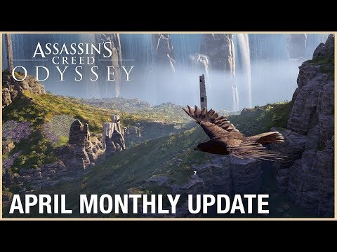 Assassin's Creed Odyssey: April Monthly Update   Ubisoft [NA]