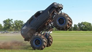 WE RODE IN A MONSTER TRUCK