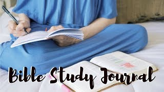 How to Start a Bible Study Journal! (Bible Note Taking)