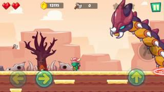 Jungle Adventures: Super World - Sahara Level 16 (Boss Fight)... Gameplay (Free Game On Android)