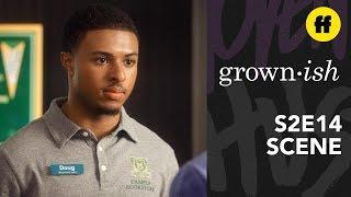 Grown Ish Season 2, Episode 14   Doug Gives Zoey Career Advice   Freeform