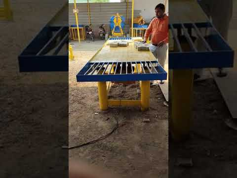 Interlocking Designer Tiles Machinery