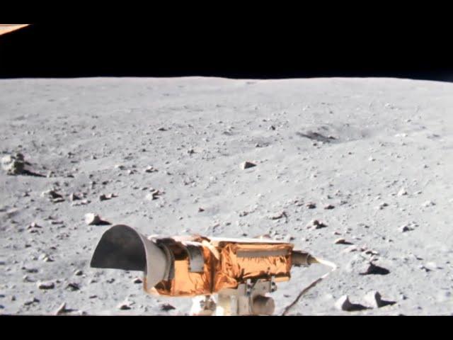 ИИ перерисовал историческое видео высадки на Луну всверхвысоком качестве