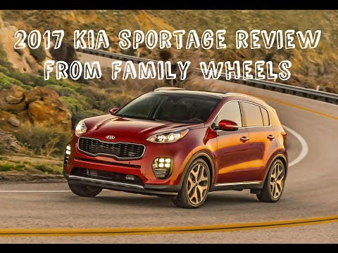 2017 Kia Sportage review from Family Wheels