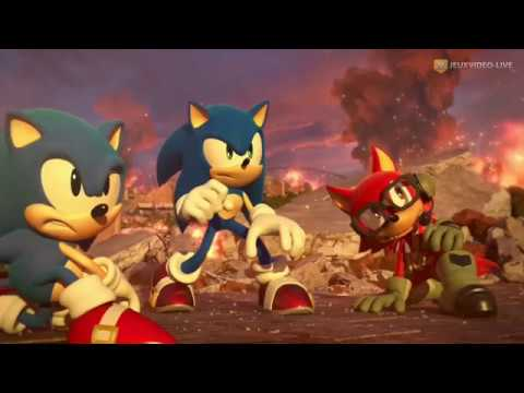 Impressions à chaud lors de la GC 2017 de Sonic Forces
