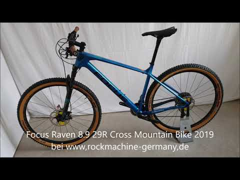 Focus Raven 8 9 29R Cross Mountain Bike 2019