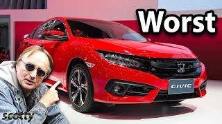 Худшие автомобили, которые когда-либо производила Honda