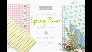 Digital Scrapbooking Paper Download