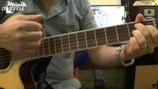 Bekle Dedi Gitti - Gitar Dersi ( Akor & Solo )