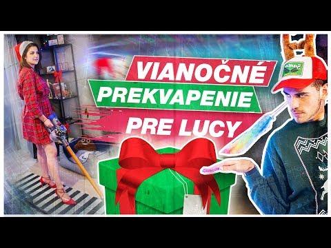 Vianočné prekvapenie pre Lucy! w/ Celeste & Carmel Buckingham