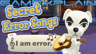 KK Slider's Secret Error Songs - Animal Crossing: New Horizons