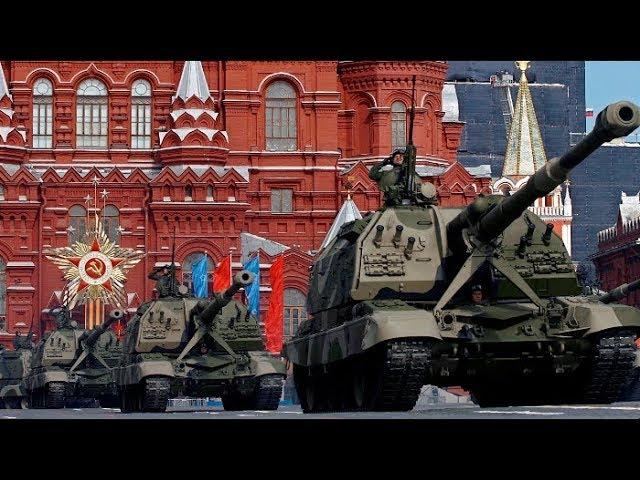 Трансляция парада Победы в 2018 году