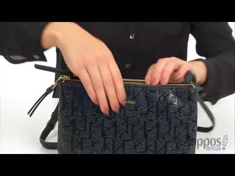 Calvin Klein Freda Top Zip Crossbody SKU: 8984942