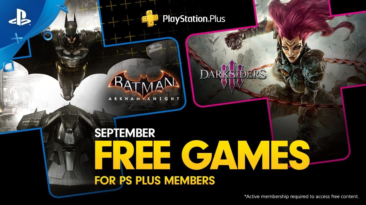 PlayStation Plus Free Games for September: Batman: Arkham
