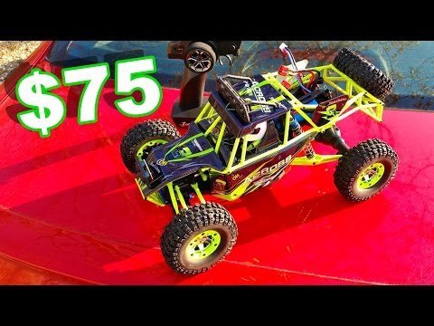 AWESOME MUST HAVE RC TRUCK $75 - WLtoys 4WD W/ Lights 1/12 Scale! - TheRcSaylors