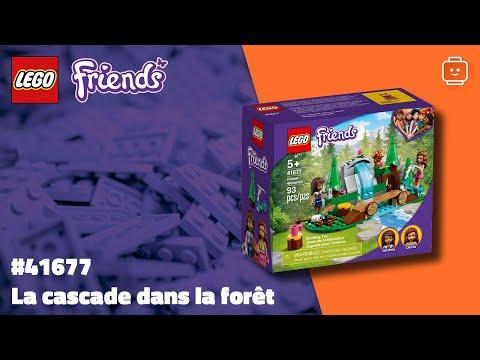 Vidéo LEGO Friends 41677 : La cascade dans la forêt
