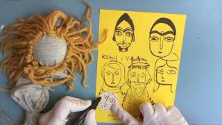 Seashore Art School With Fiona Fish Finger – Home Made Friend
