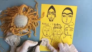 Seashore Art School With Fiona Fish Finger – Home Made Friend