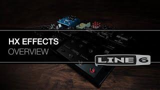 Line 6 HX Effects Video
