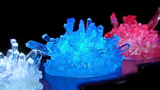 라이트업 크리스탈 만들기 MINI EXPLORER LIGHT-UP CRYSTAL GROWING KIT(WITH LED LIGHT DISPLAY) [ASMR]