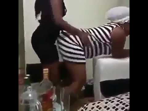 Sexy_ Hausa dancers Girls Tweaking ass together