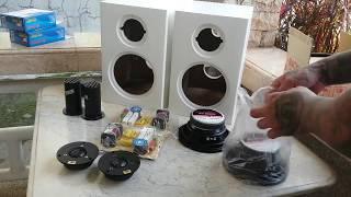 DIY Routed MDF 2 Way Bookshelf Speakers