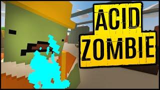 Unturned Multiplayer Season 3 ➤ Military Base Looting & New Zombie Type Encounters! Acid Zombie!