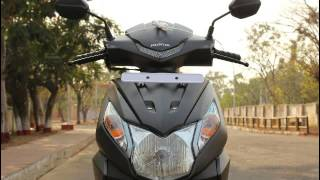 New Honda Dio 2017 first look full 360° view matte Grey