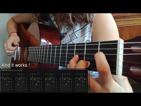Guitar chord fingering generator (C++)