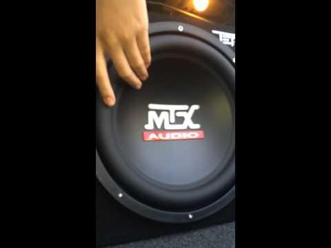 MTX Terminator (1,200-Watt Dual 12-Inch subwoofer) review!!