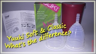 Yuuki Soft & Classic - What's the Difference? Menstrual Cups