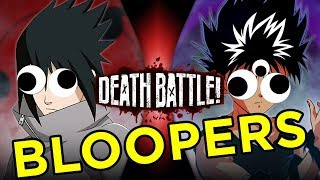 Sasuke VS Hiei BLOOPERS!